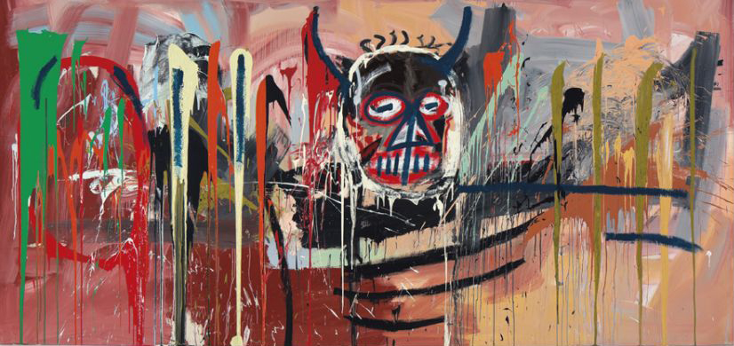"Jean-Michel Basquiat's ""Untitled"" (1982) sold for $57,285,000. (Christie's Images LTD. 2016)"