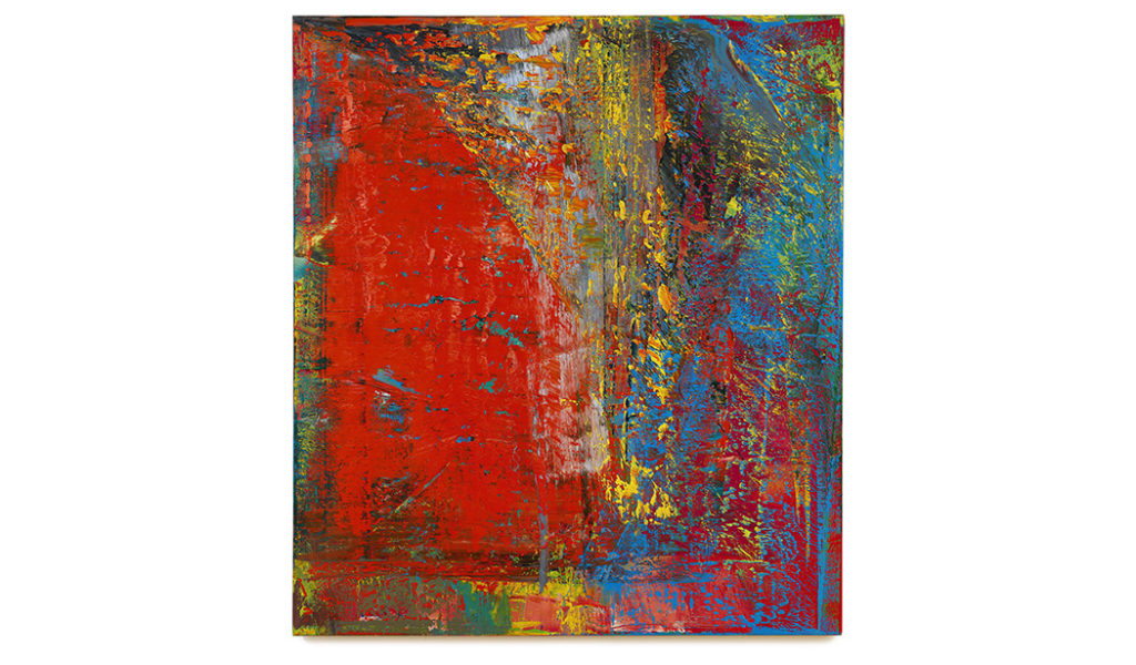 "Gerhard Richter's ""A B, Still (612-4)"" from 1986 (Sotheby's )"