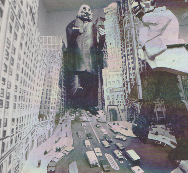 """""""The City of Chicago (detail)"""", 1968, Art Institute of Chicago, photograph by Jonas Dovadenas, courtesy Rutgers University Art Gallery"""