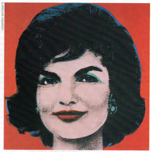"Warhol's Red Jackie, 1963, has sold for as much as $2.2 million dollars.  Last year it reached only $352,000, a price it's buyer called ""dirt cheap"""