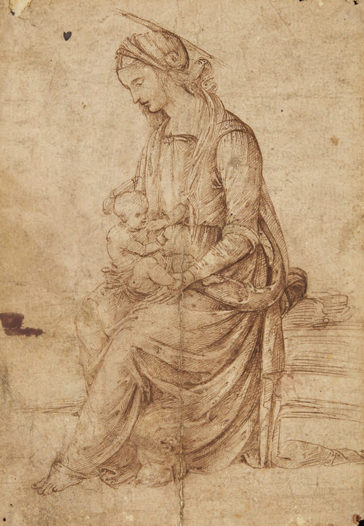 Bernardino di Betto di Biagio (called Pintoricchio), Madonna and Child.