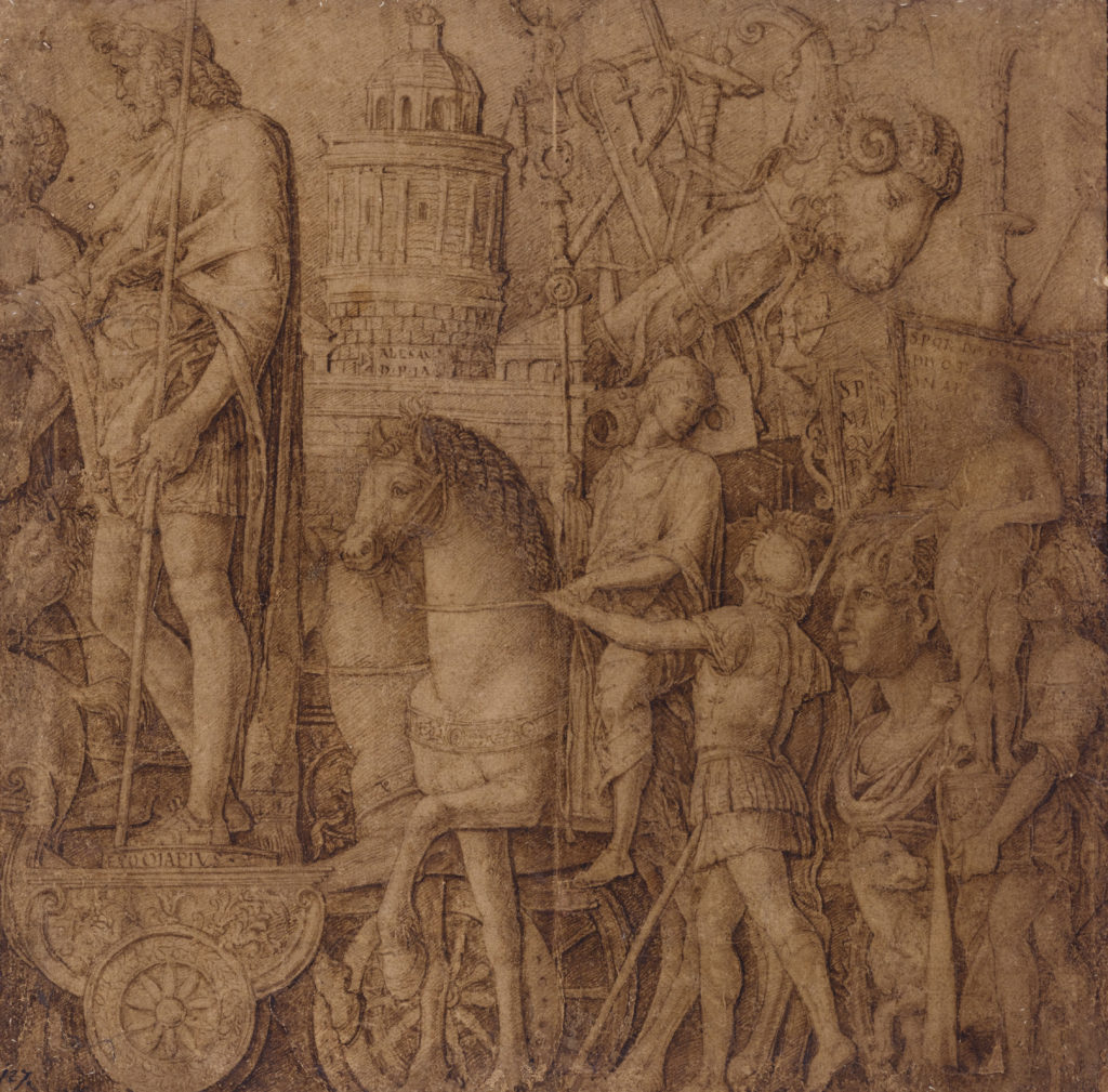 Andrea Mantegna, The Triumph of Alexandria.