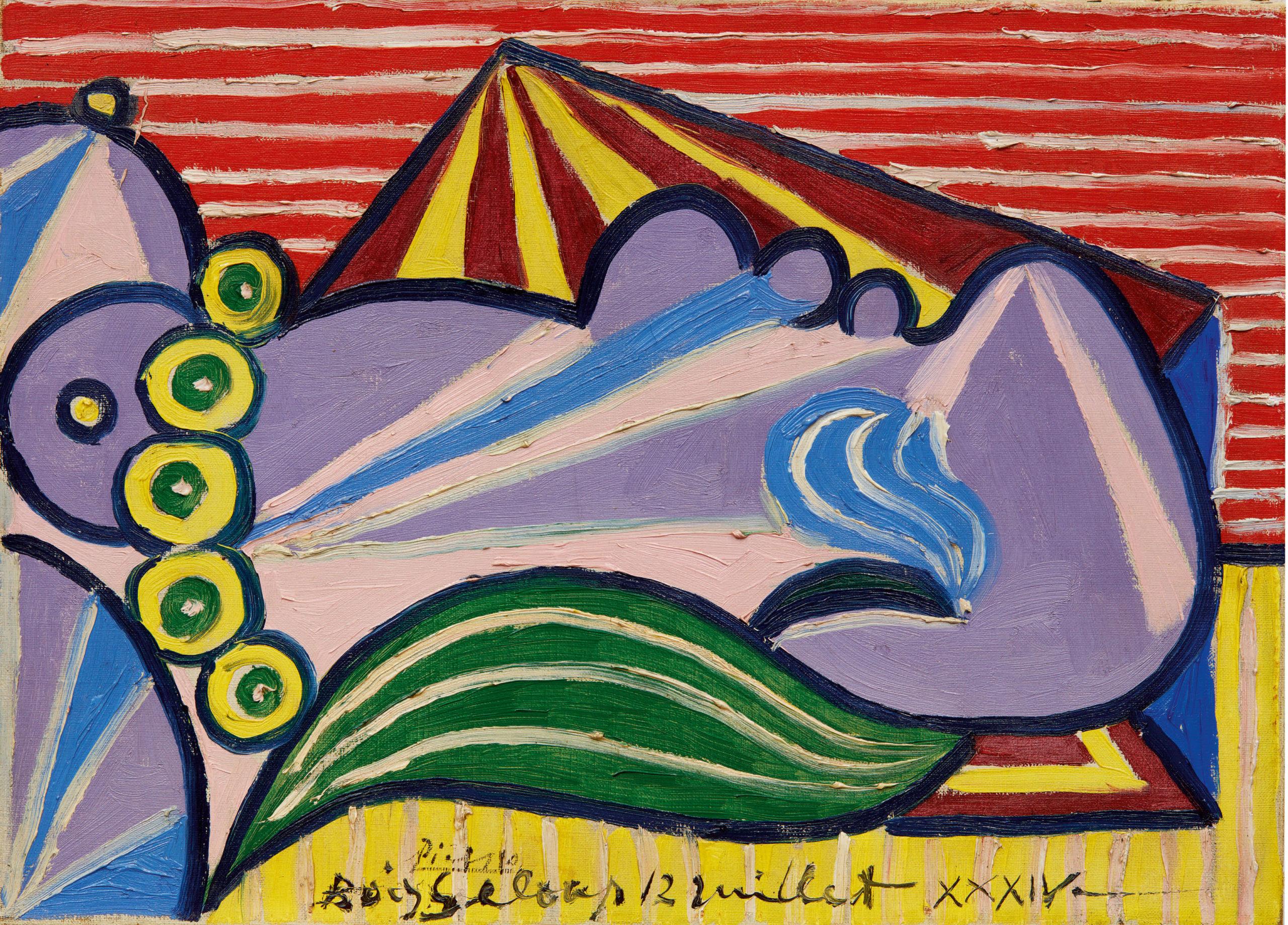 10368 Lot 1014 - Pablo Picasso, Head of a Sleeping Woman (Tête de femme endormie)