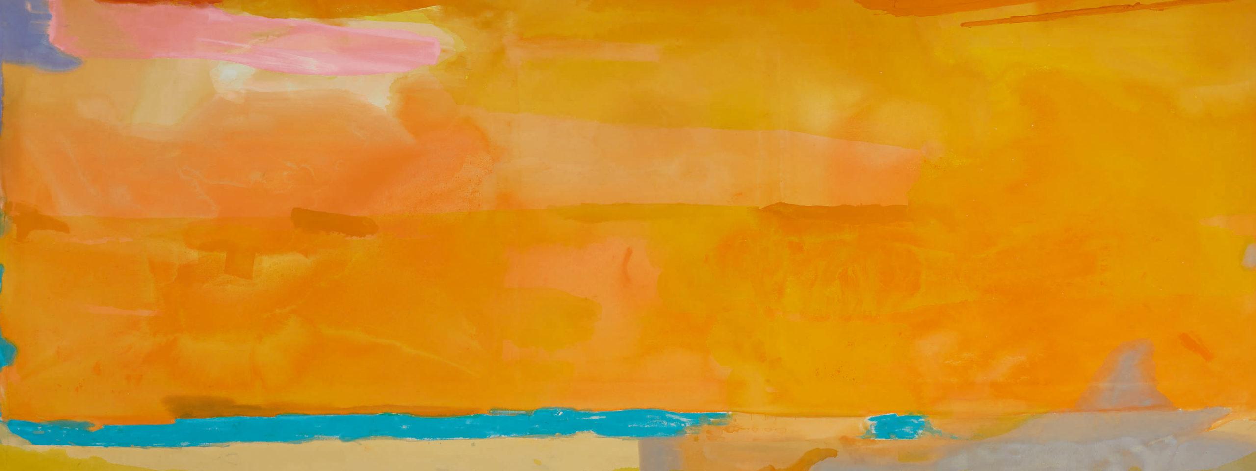 10380 Lot 2 - Helen Frankenthaler, Royal Fireworks