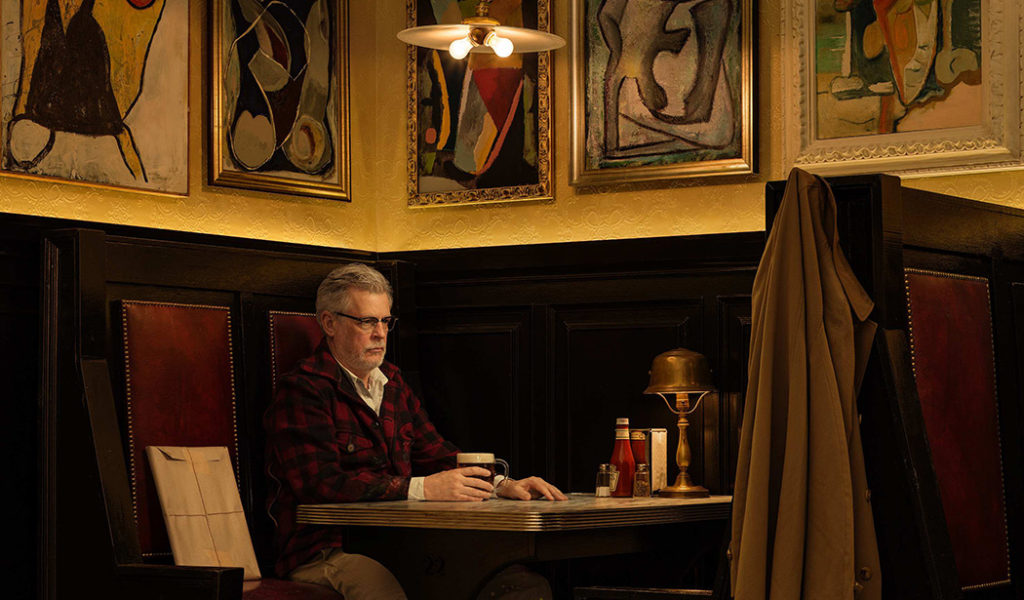 """All 4 editions of Rodney Graham's self-portrait """"Artist in Artist's Bar, 1950's"""" (2016) sold at New York's 303 Gallery (© Rodney Graham, courtesy 303 Gallery, New York)"""