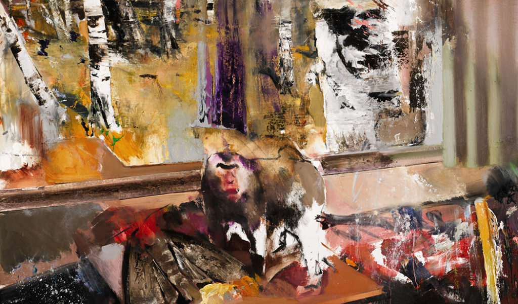 "Adrian Ghenie, ""The Hunted,"" 2010 (detail) 