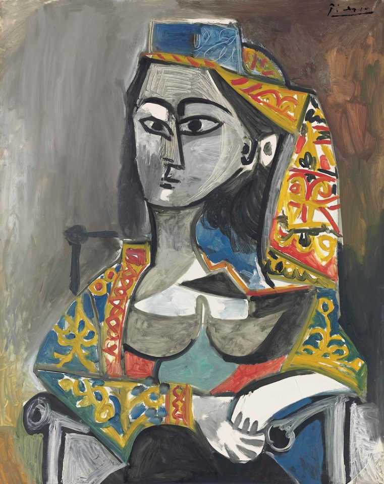 Pablo Picasso - Woman in Turkish Costume in a Chair