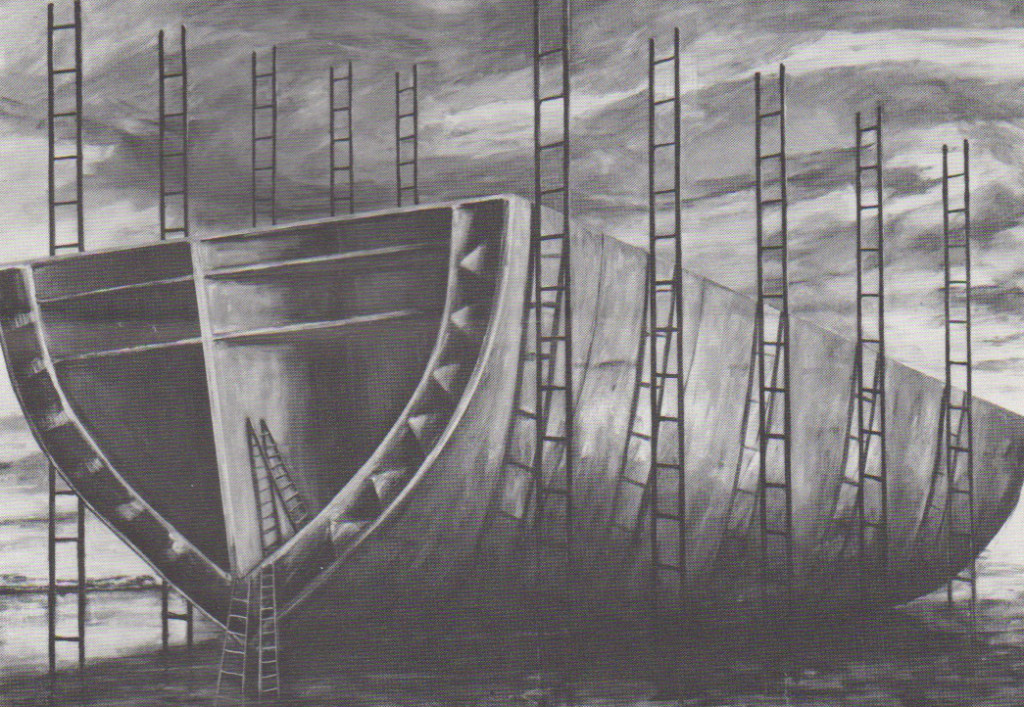 Ark, 1985. Oil on canvas, 63 x 90 inches. Photo: Sarah Wells