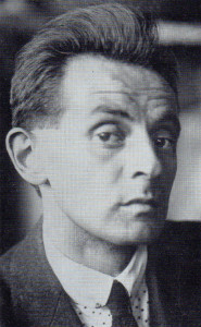 Egon Schiele, shortly before his death in 1918. At the time of his death, the artist was convinced of his own artistic immortality.