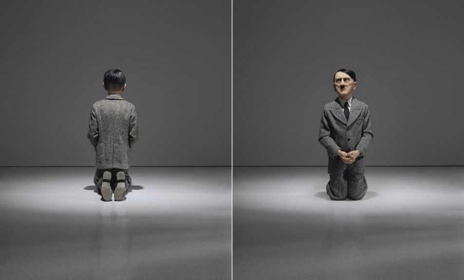 "Maurizio Cattelan's ""Him"" (2001) sold for $17,189,000 in Christie's ""Bound to Fail"" auction. (© Maurizio Cattelan)"