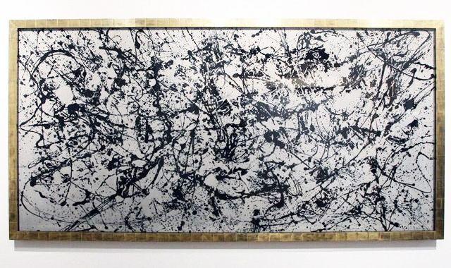 "Robert Longo's ""Untitled (Pollock Composite), 2014."