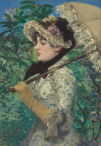 Édouard Manet, Le Printemps, 1881, Oil on canvas, Sold for $65,125,000
