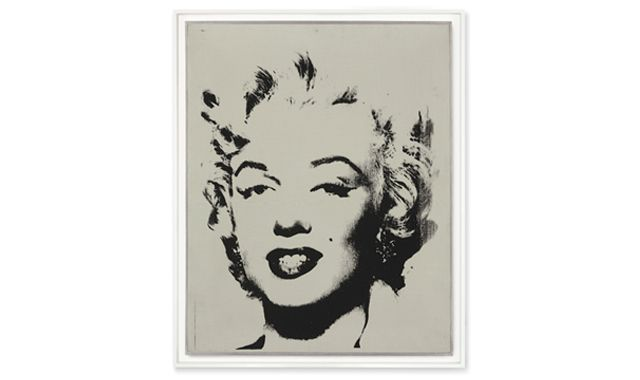 "ndy Warhol's ""White Marilyn,"" 1962, which sold for $41 million. (CHRISTIE'S IMAGES LTD. 2014)"