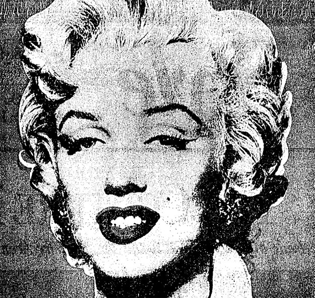 """Andy Warhol's """"Shot Red Marilyn"""" goes on the block with a presale estimate of $2.5 million to $3 million"""