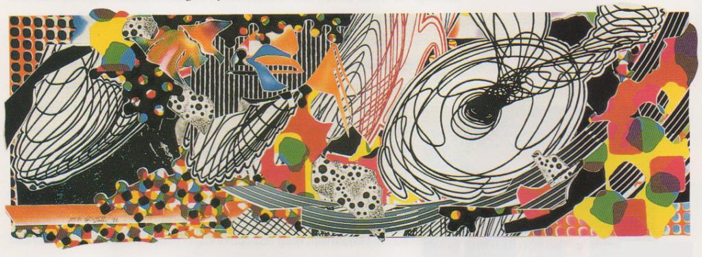 """Frank Stella, """"Monkey Rope"""""""