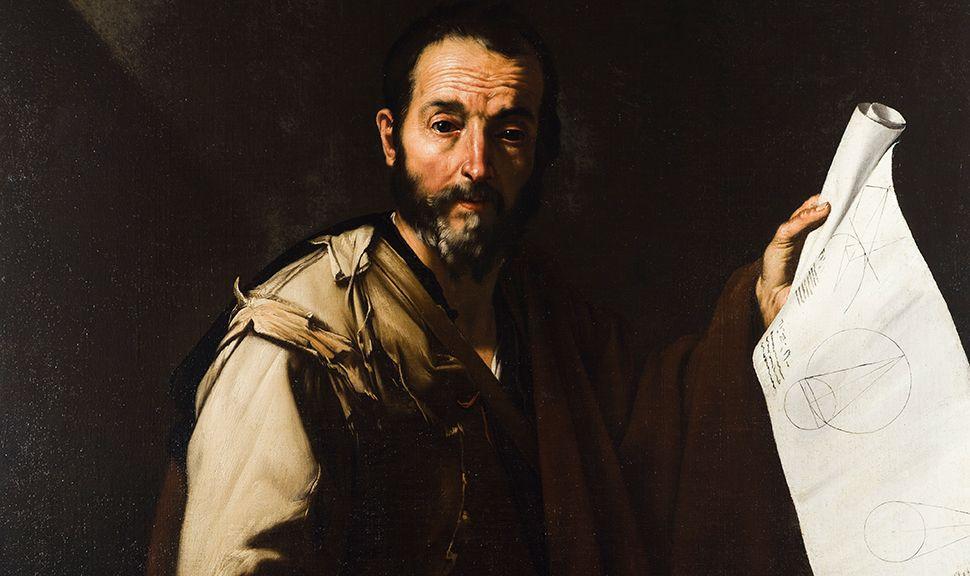"Jusepe de Ribera's ""Thales of Miletus."", Courtesy Coll & Cortes"