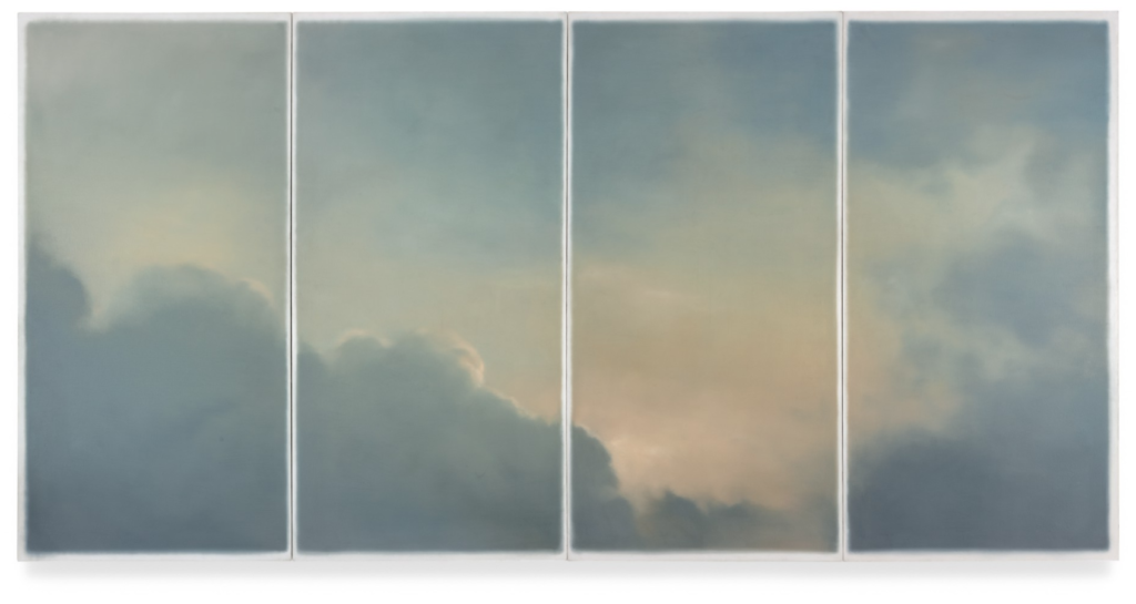 Gerhard Richter, Wolken (Fenster) (Clouds (Window)),1970