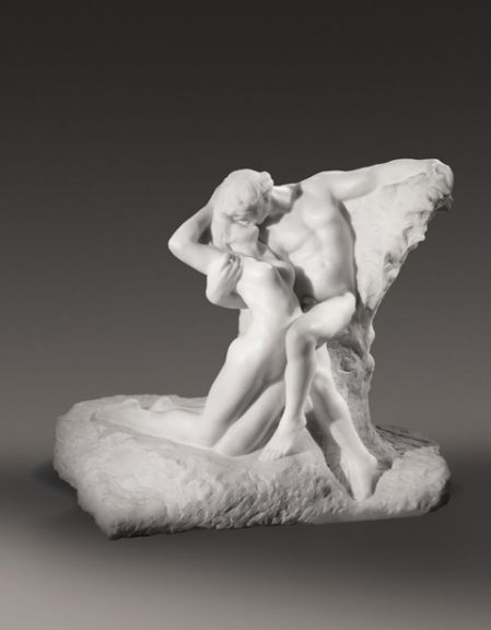 "Auguste Rodin's ""L'Éternel Printemps"" (1901–1903), estimated at $8-12 million, sold for a record $20.4 million. (Sotheby's )"