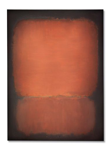 """Mark Rothko's """"No. 10"""" which sold for $81.925,000."""