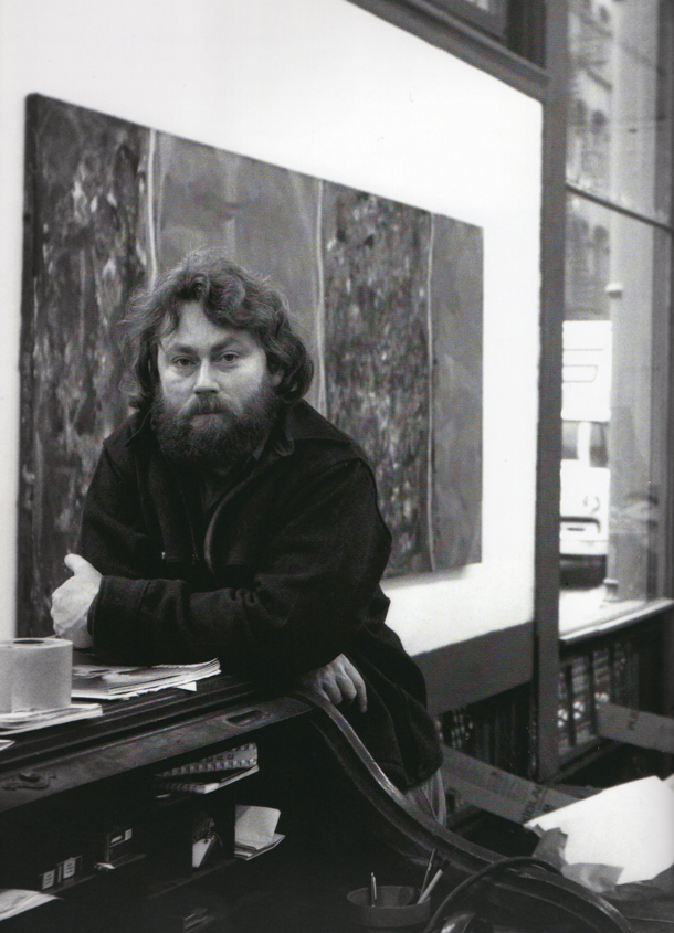Judd at his Spring street studio,  1970