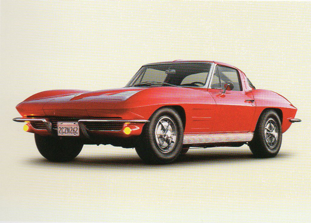 Corvette Stingray split-window coupe from 1963
