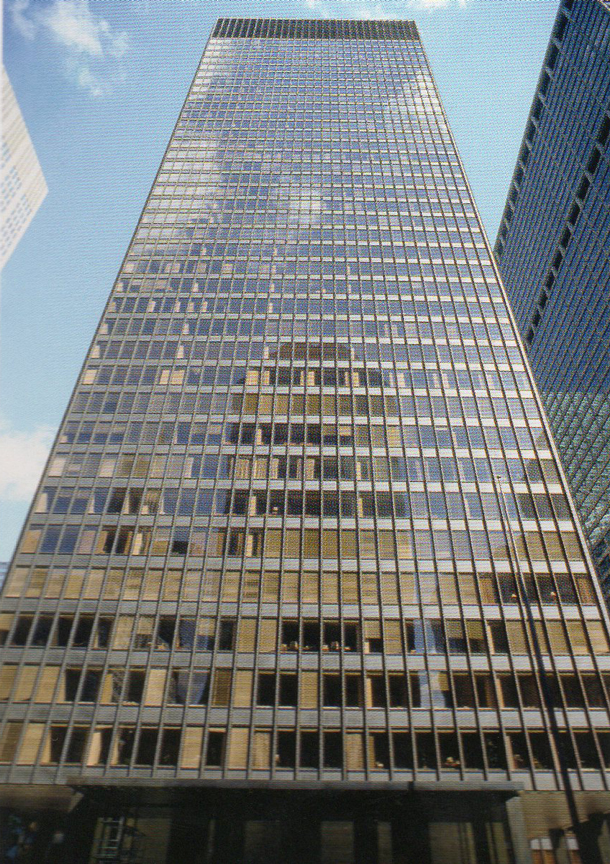 Ludwig Mies van der Rohe, The Seagram Building, 1958, New York, NY