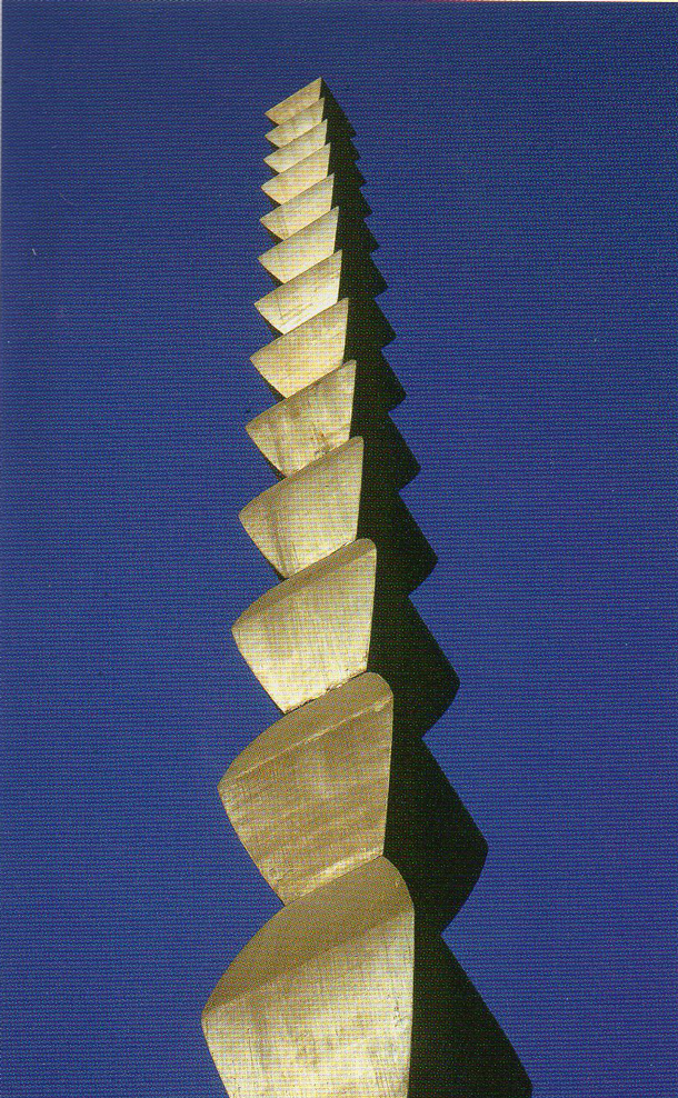 Constaintin Brancusi, The Endless Column, 1937, Cast iron and steel, 98 feet high, World War One Memorial Park, Tirgu Jiu, Romania