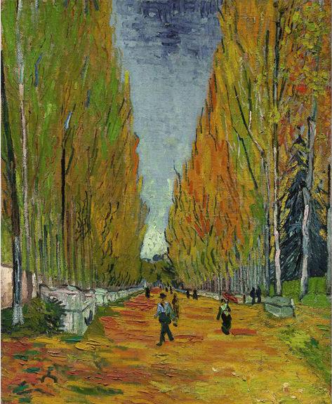 """Vincent van Gogh's """"L'Allée des Alyscamps,"""" 1888, which sold for $66.3 million"""
