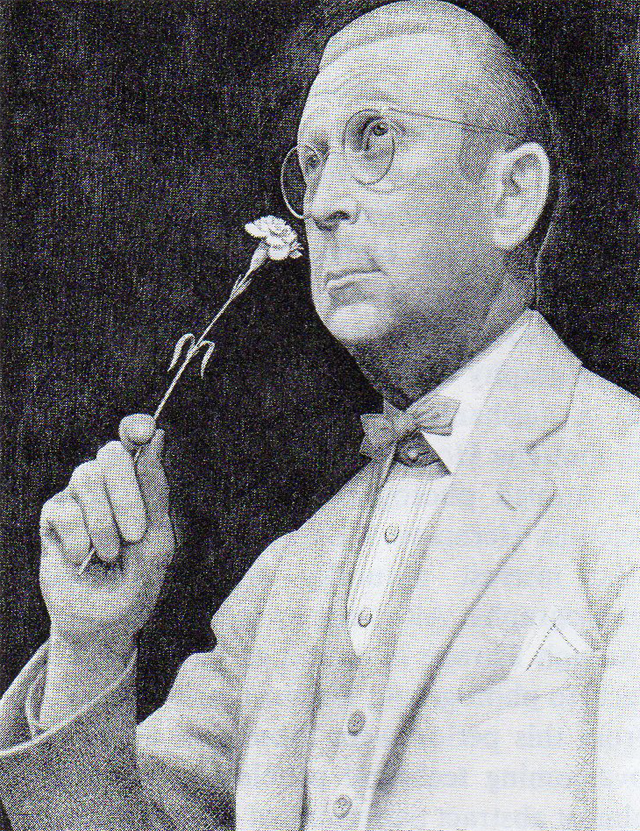 Sentimental Yearner (1936-37, pencil, black and white conte crayon, painted white around image).