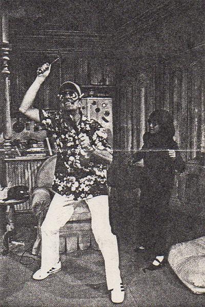 Zonker's Uncle Duke and his sidekick Honey